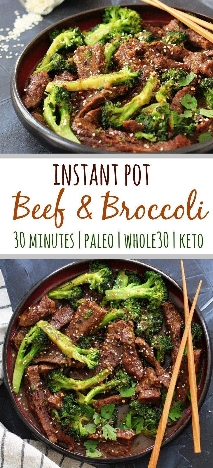Instant Pot Beef and Broccoli: Whole30, Paleo and 30 Minutes! - Whole Kitchen Sink