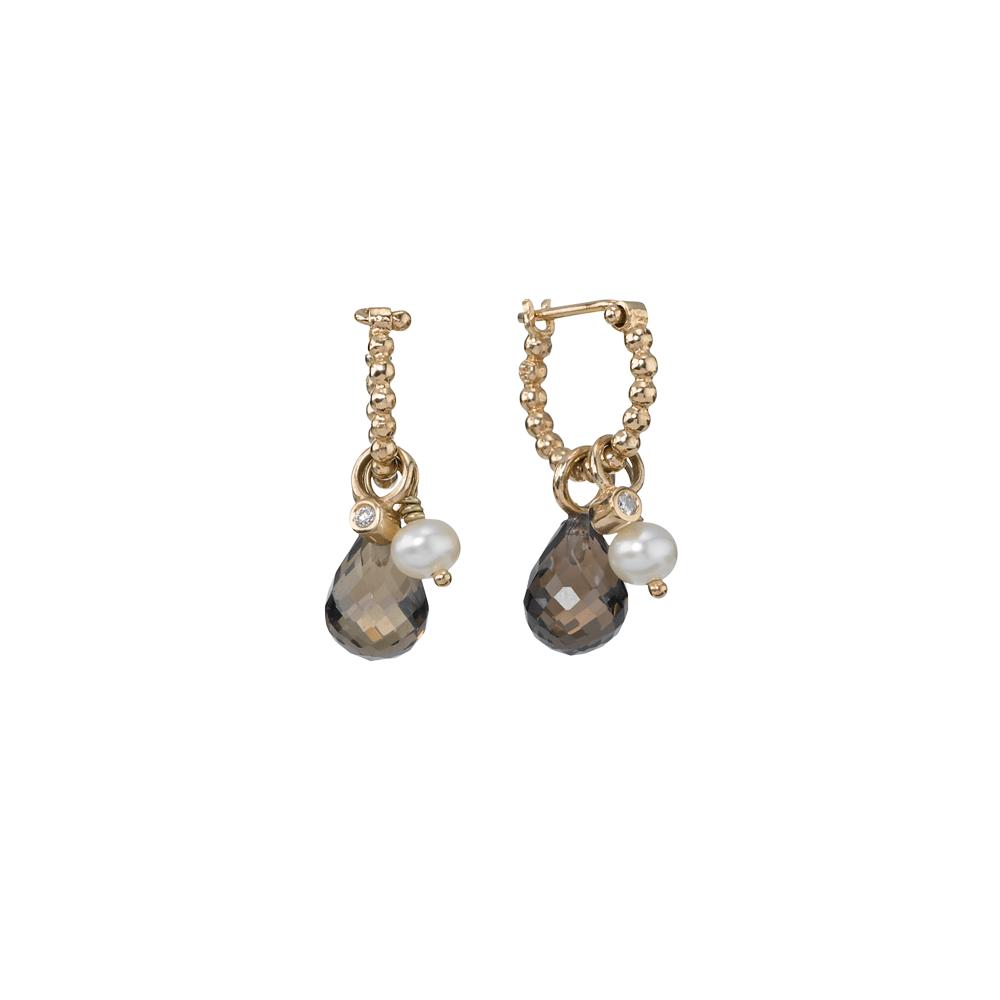 PANDORA   Gold earring, 0.02ct   Accessories   Pinterest ...