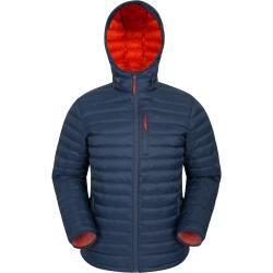 Henry Ii Herren Daunenjacke - Dunkel Türkis Mountain WarehouseMountain Warehouse #leatherjacketoutfit