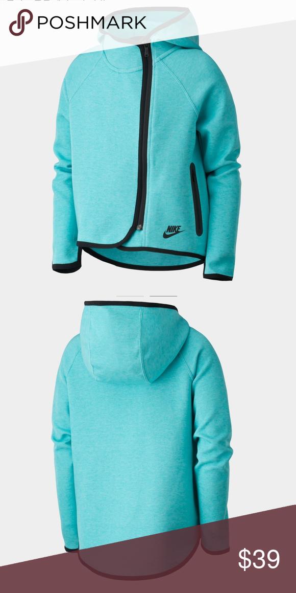 bc0bc3f39553 Nike Tech Fleece Cape Hoodie (Girl s) Nike Tech Fleece Cape Hoodie (Girl s)