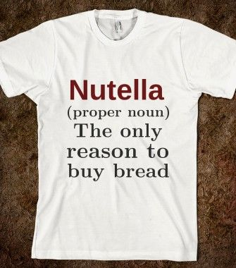Nutella  - Young and Free - Skreened T-shirts, Organic Shirts, Hoodies, Kids Tees, Baby One-Pieces and Tote Bags
