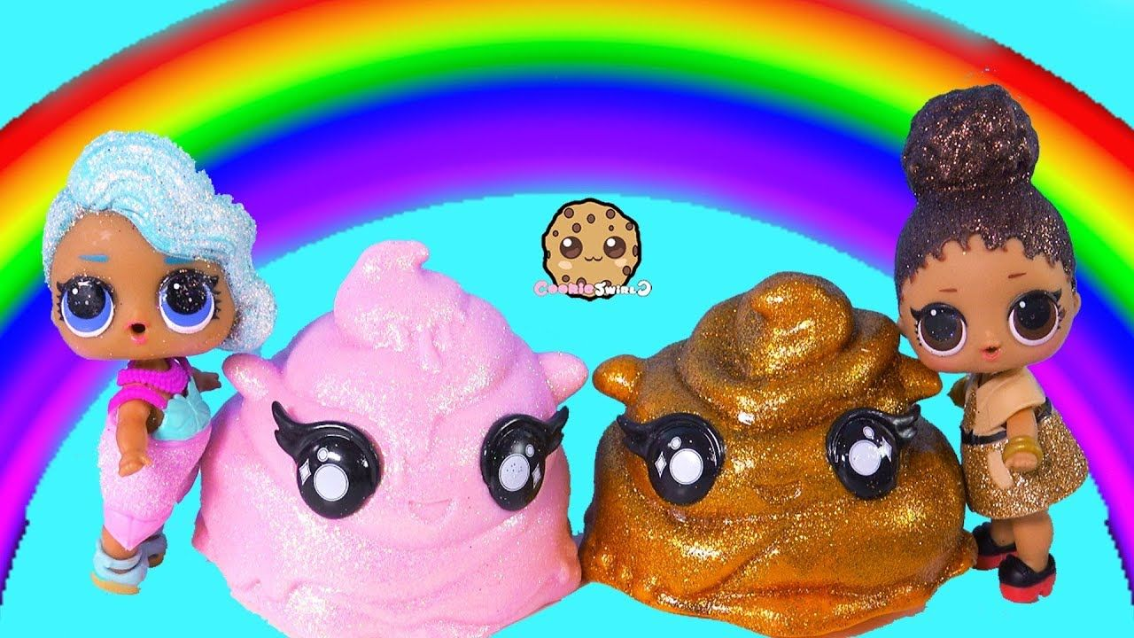 Rainbow Drops Slime Rain Lol Surprise Dolls Find Mystery Blind Bags Cookie Swirl C Blind Bags Dolls