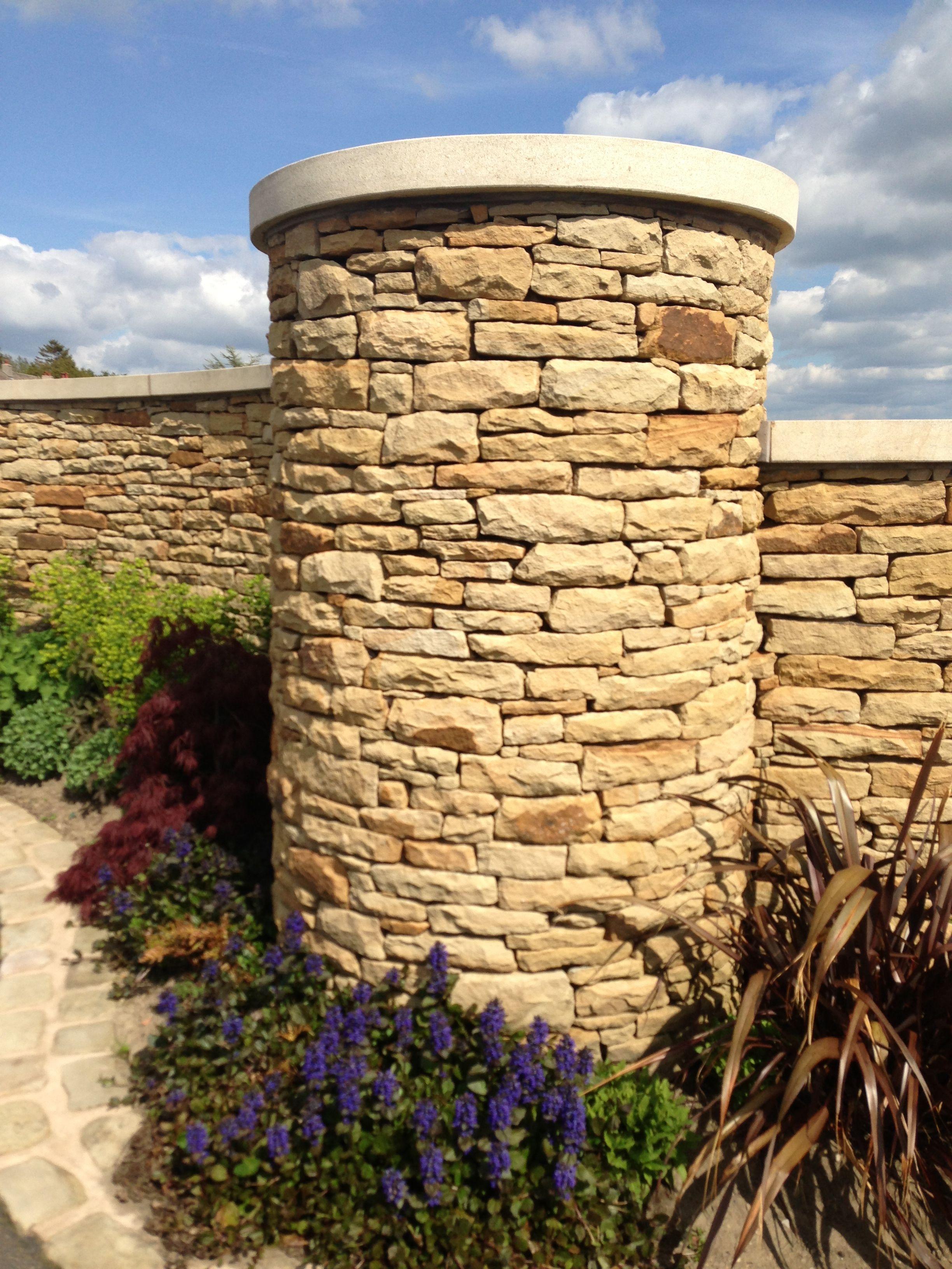 Circular Dry Stone Walling Stone Masonry Dry Stone Wall Exterior