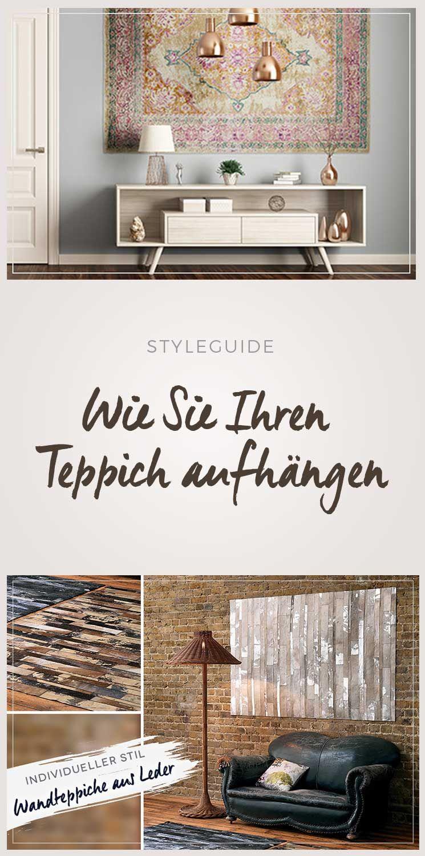 Teppiche An Die Wand Hängen Einrichten Und Wohnen Haus Deko Einrichtungstipps