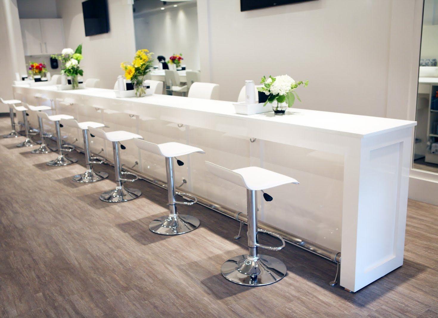 Usa Gallery Of Salon Spa Design Decoracao Salao De Beleza