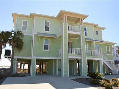 Vrbo 591986 New Upscale 4br Pensacola Beach House 100 Yards