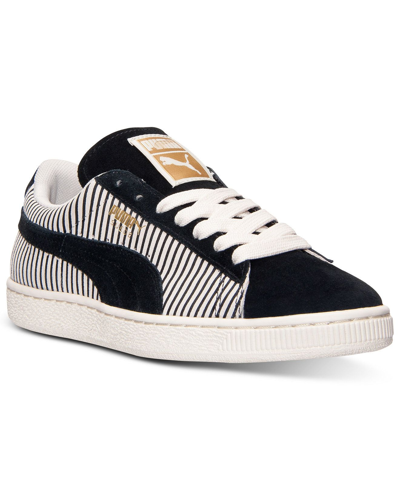 c1082aaf79d43 Puma Women s Suede Classic Lo Casual Sneakers from Finish Line - Sneakers -  Shoes - Macy s