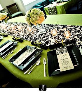 This is for a bridal shower but I love the patterns and colors.
