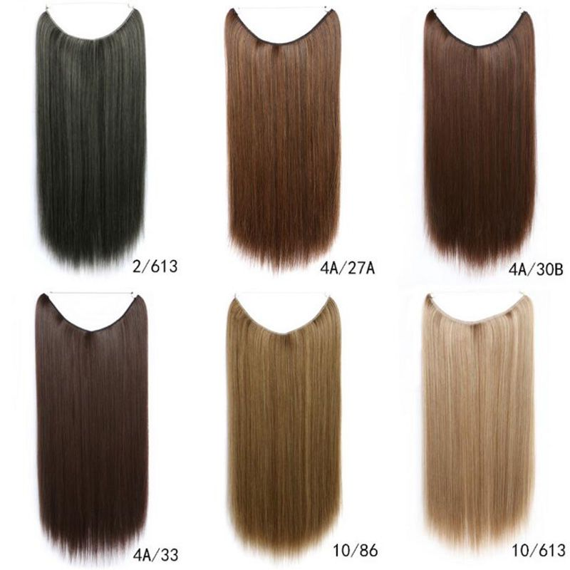 20 Inch Secret Hair Extensions No Clips Coco Syn Flip In Hair