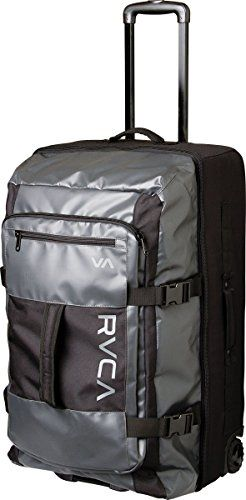 RVCA Young Mens Rvca Voyage Roller Bag Accessory black EA   Check out the  image by visiting the link. 84ad79fc4cf1a