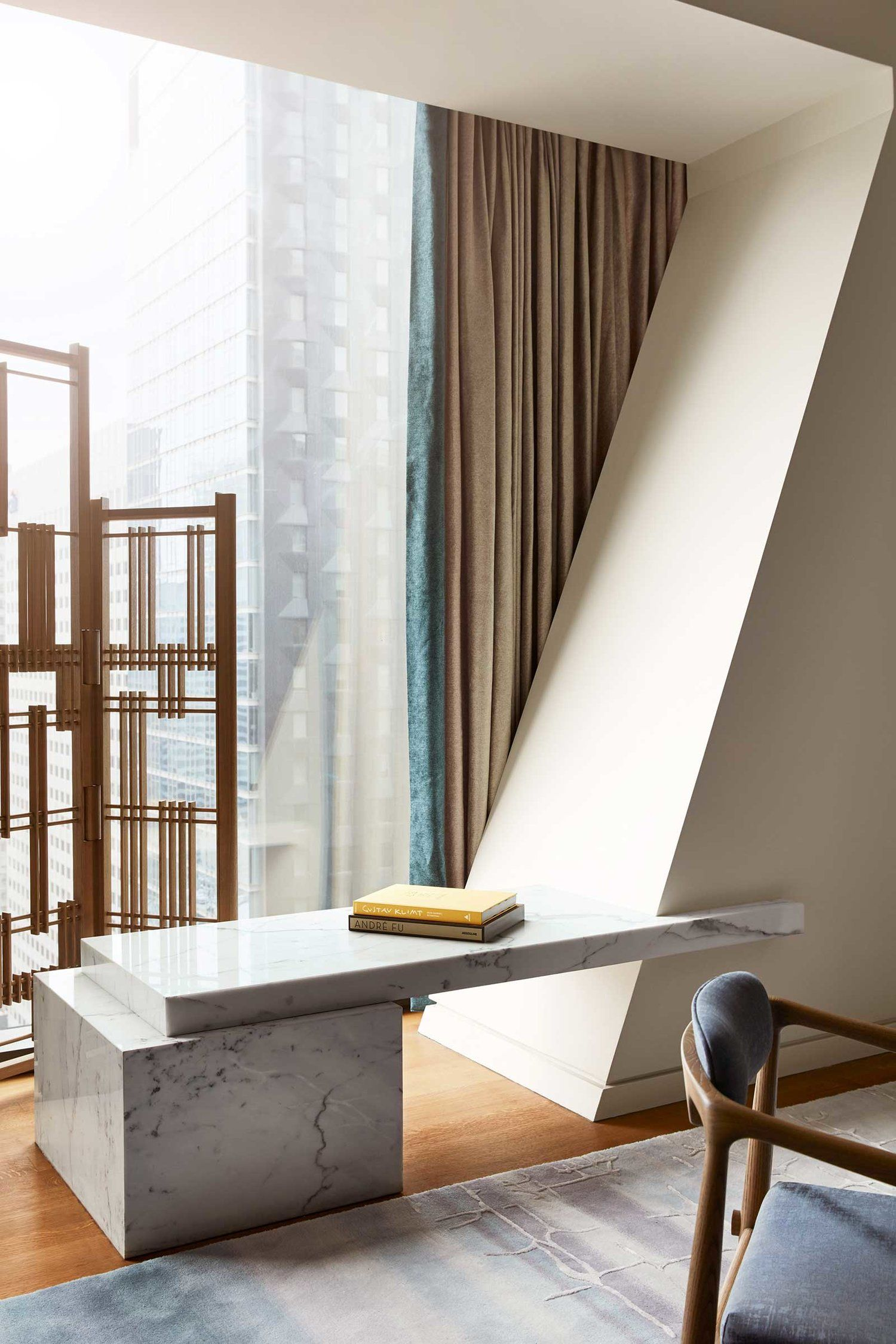 Endo Room Design: André Fu Designs His First Apartment In The US