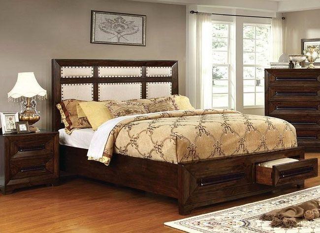 OCFurniture - Furniture of America CM7697 Walnut Bed with Drawers, $549.00 (http://www.ocfurniture.com/furniture-of-america-cm7697-walnut-bed-with-drawers/)