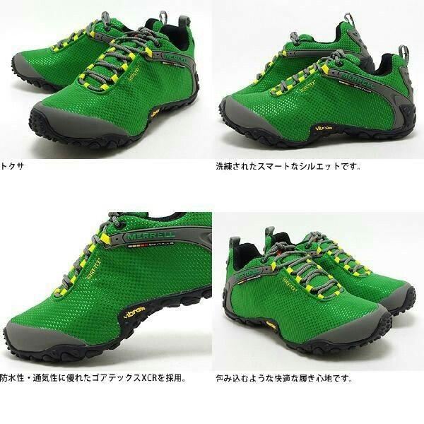 Merrell Chameleon 2 Storm Gtx Xcr Black Green Vibram Sport Shoes Shoes Black