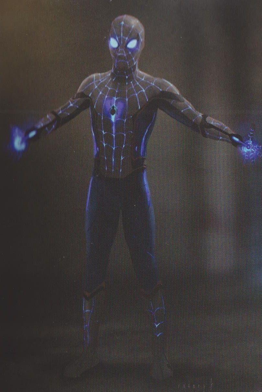 Spider Man Far From Home Spiderman Iron Spider Suit Iron Spider Costume