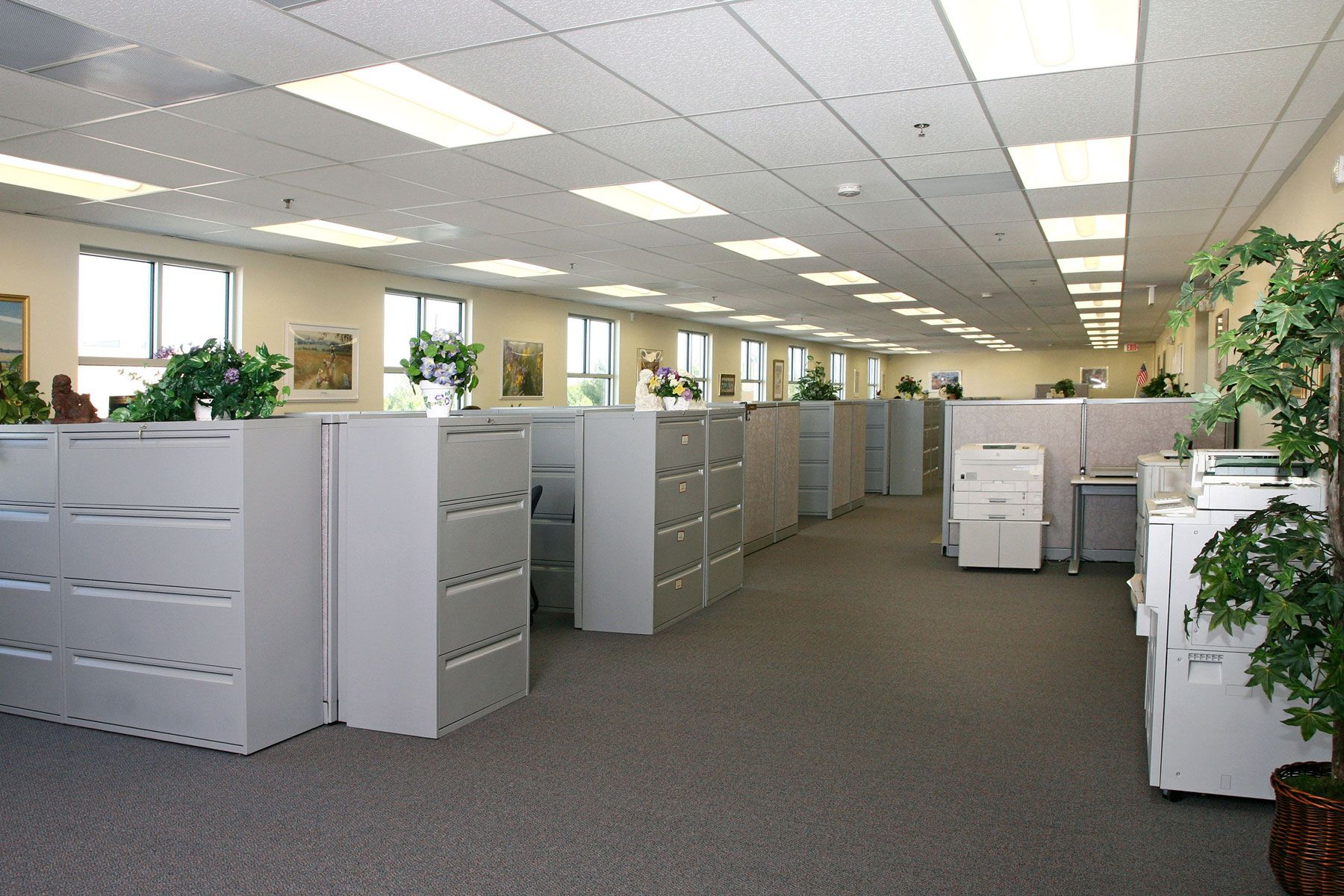 office building interior PacVan Modular Building Provides New