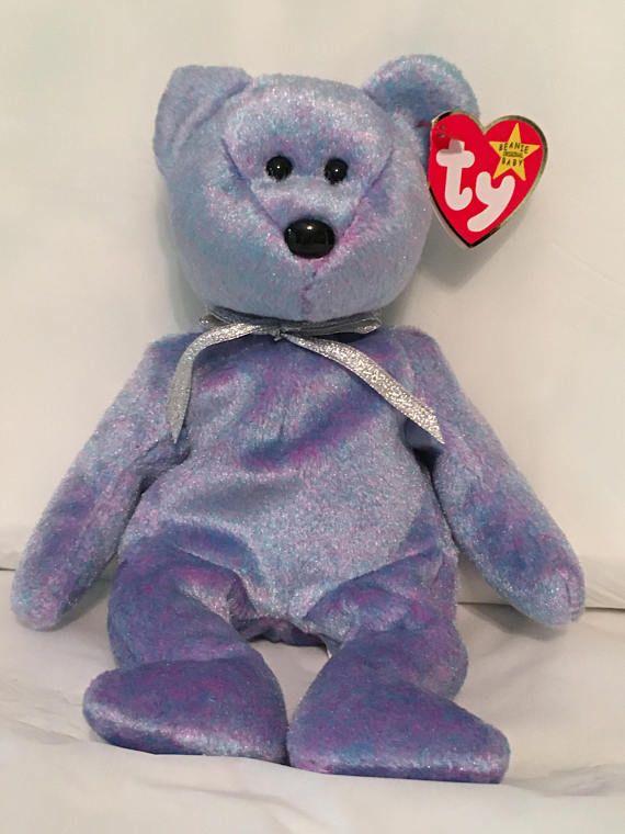 ff92d8dbeba TY Beanie Baby - CLUBBY II the Teddy Bear - Pristine with Mint Tags ...