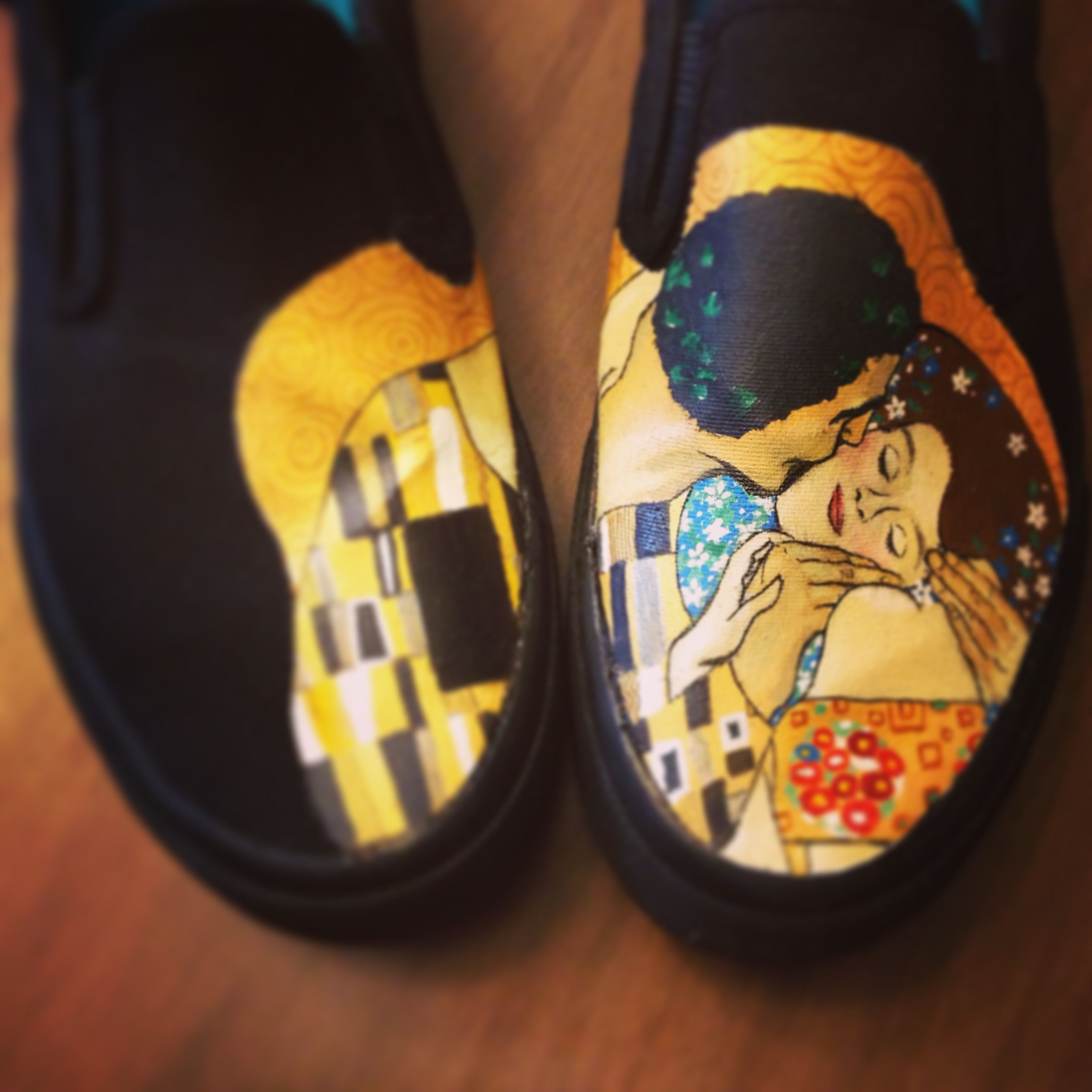 Hand painted shoes, Painted canvas shoes