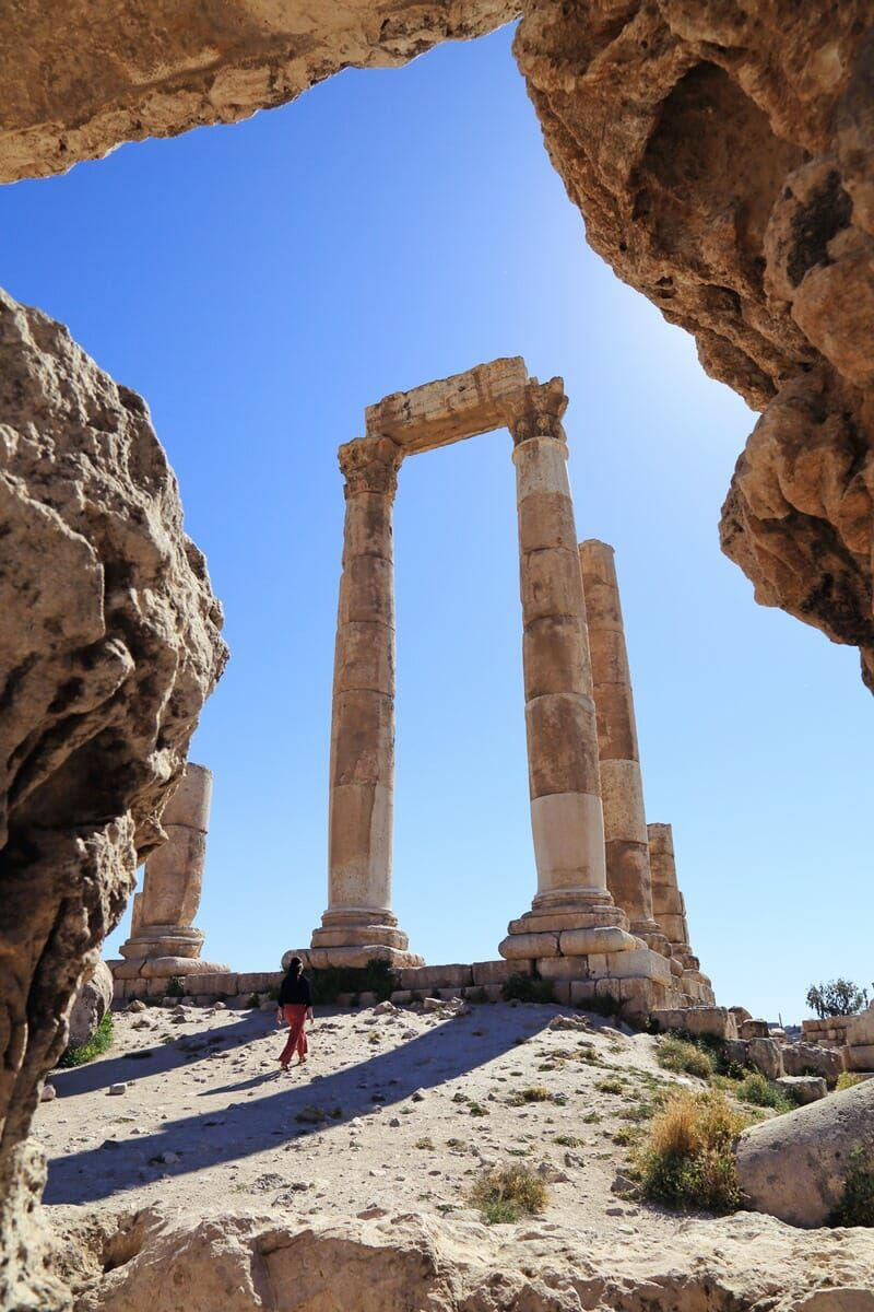 5 of the Best Things to Do in Amman, Jordan (For Culture, History and Wildlife Lovers) #ammanjordan
