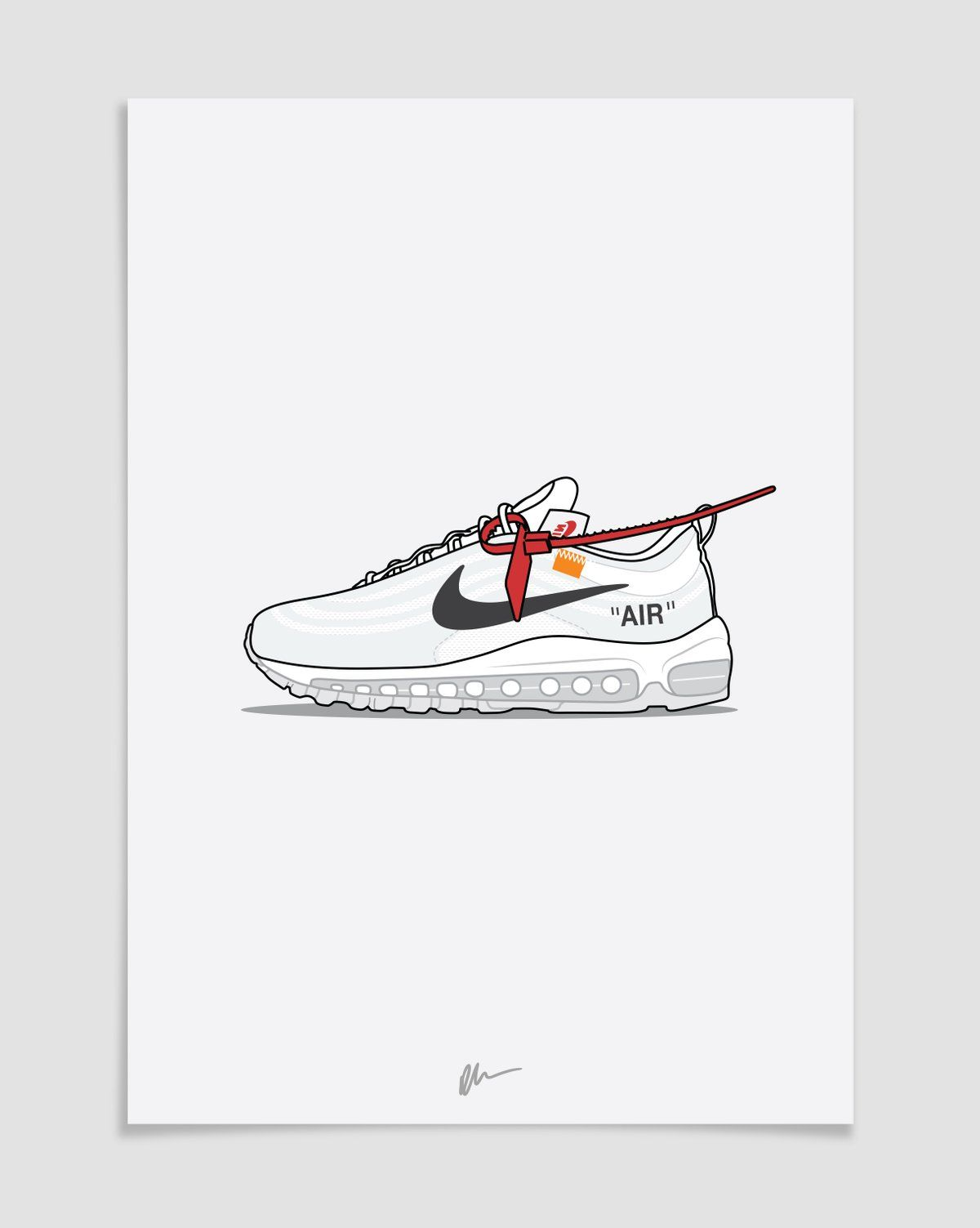 quality design 36e32 46d95 Image of ☆ NEW ☆The Ten - Off-White Air Max 97 Beast Wallpaper