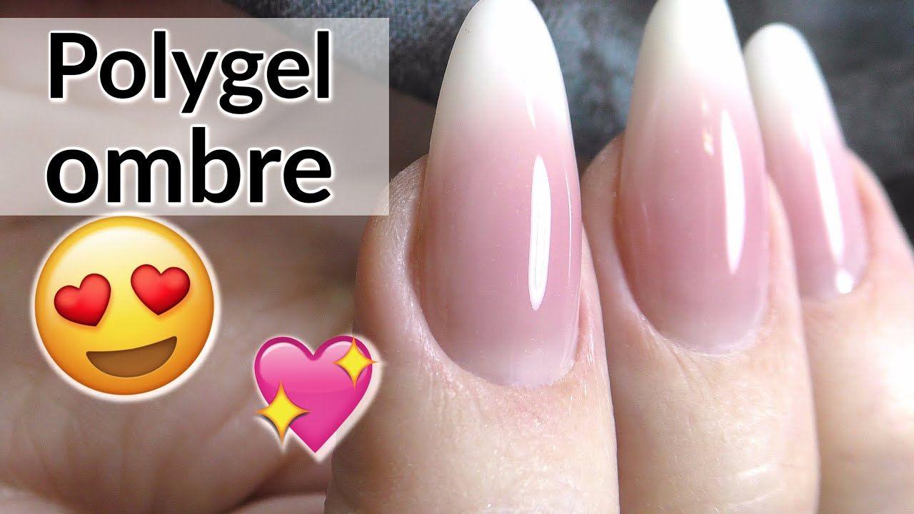 Poly Gel Baby Boomer Tutorial Youtube Gel Nail Tutorial Gel Nails Gel Nails French