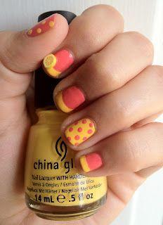 Miscellaneous Manicures Pink Lemonade Nails