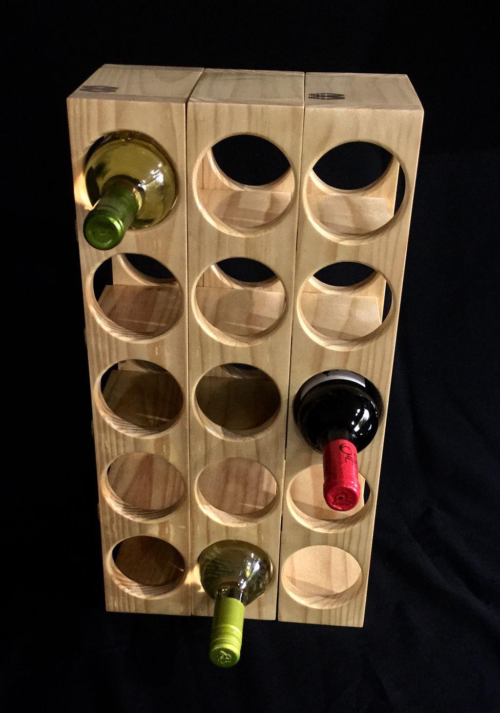organizador vino 14 | Wine racks | Pinterest | Organizadores ...