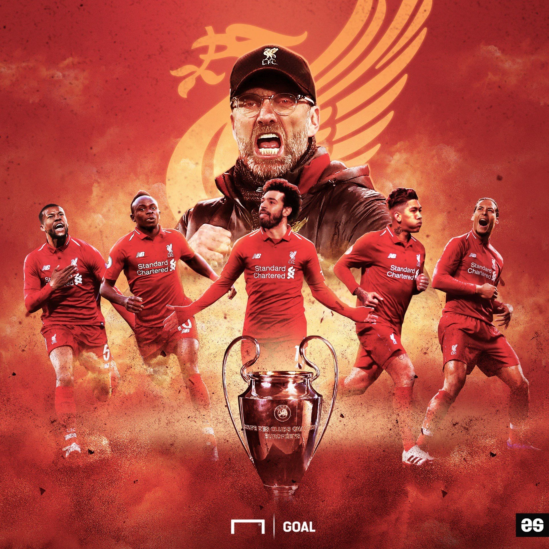 Liverpool Uefa Champions League Winner 2019 Liverpool Champions Liverpool Uefa Champions League Liverpool Football Club Wallpapers