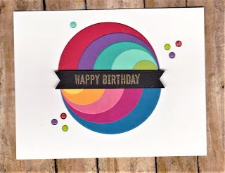 Concentric Shapes Card