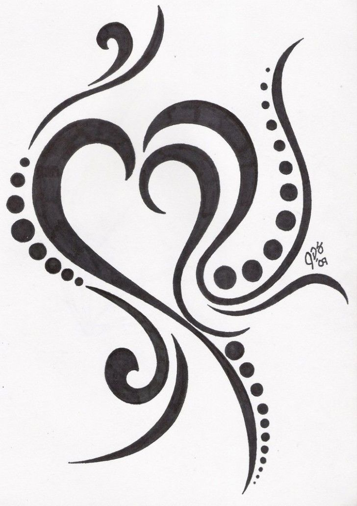 tribal-heart-tattoos-ideas-728x1032.jpg (728×1032) | Tattoos ...