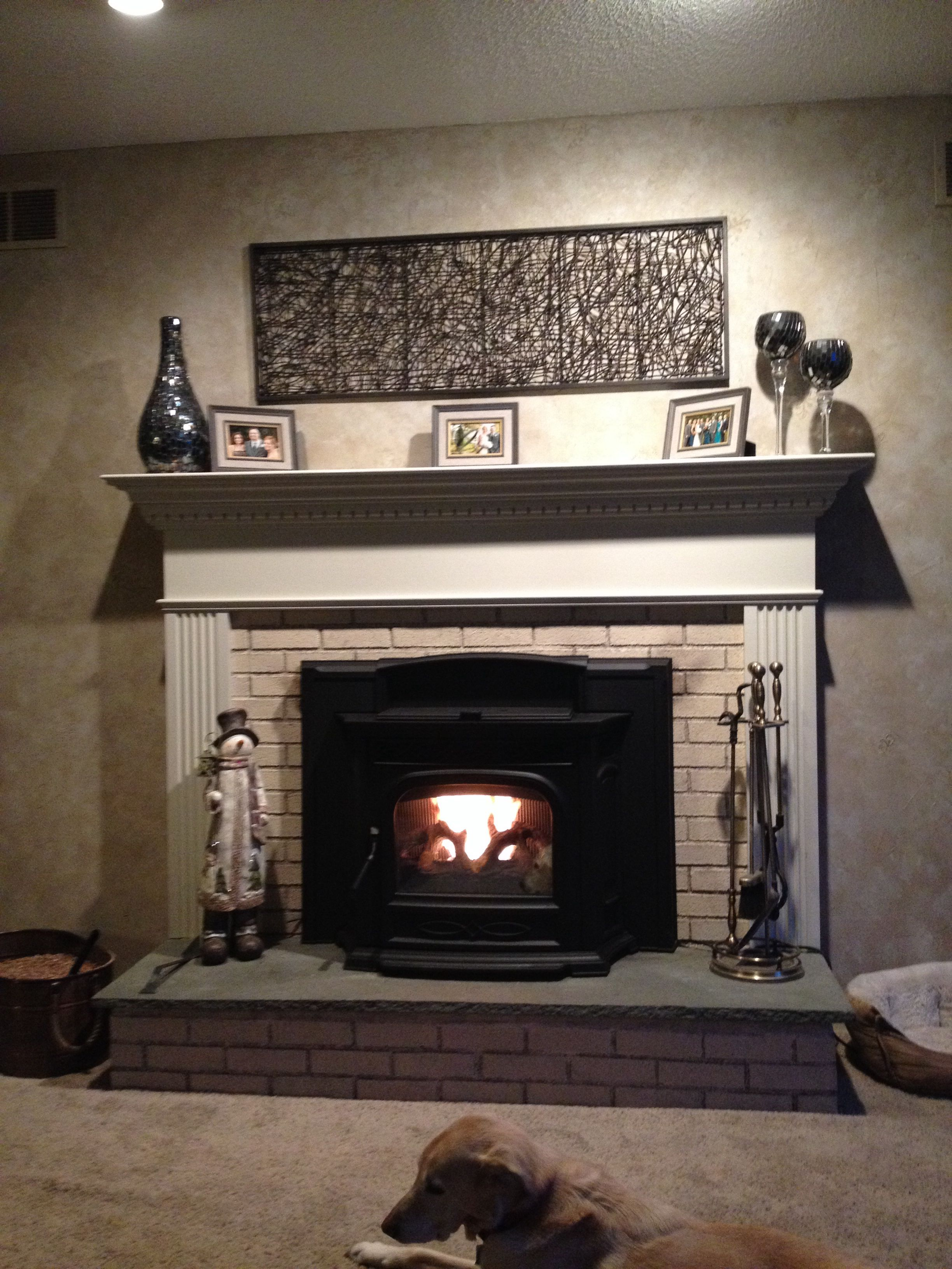 update fireplace insert