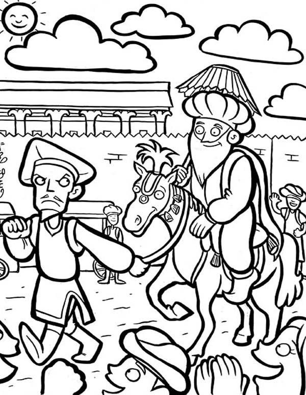 purim story coloring pages | coloring Pages | Pinterest | Bible ...
