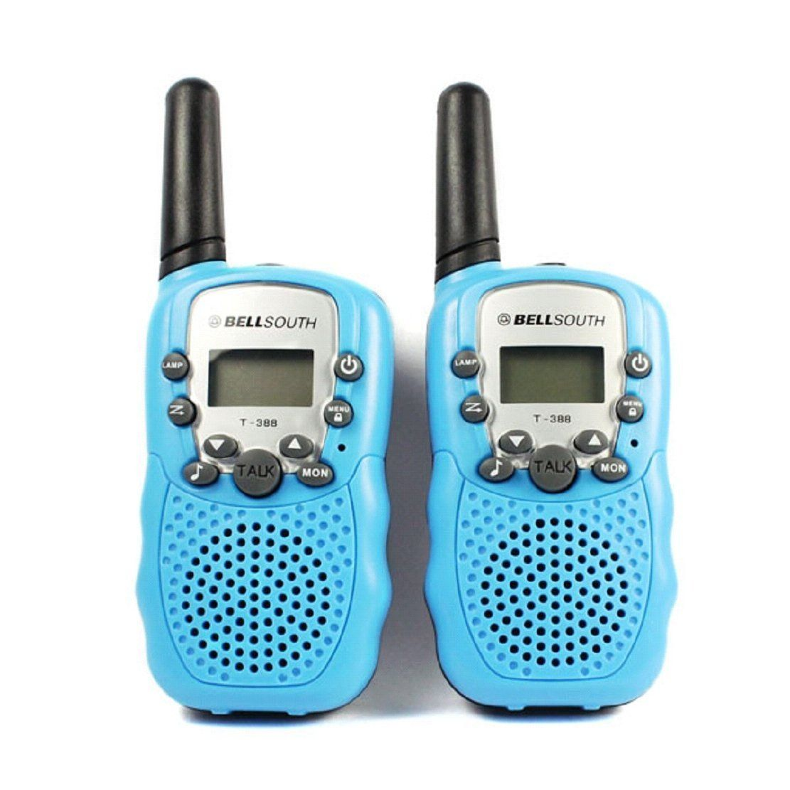 BELLSOUTH T388 2 Piece T-388 3-5KM 22 FRS and GMRS UHF Radio