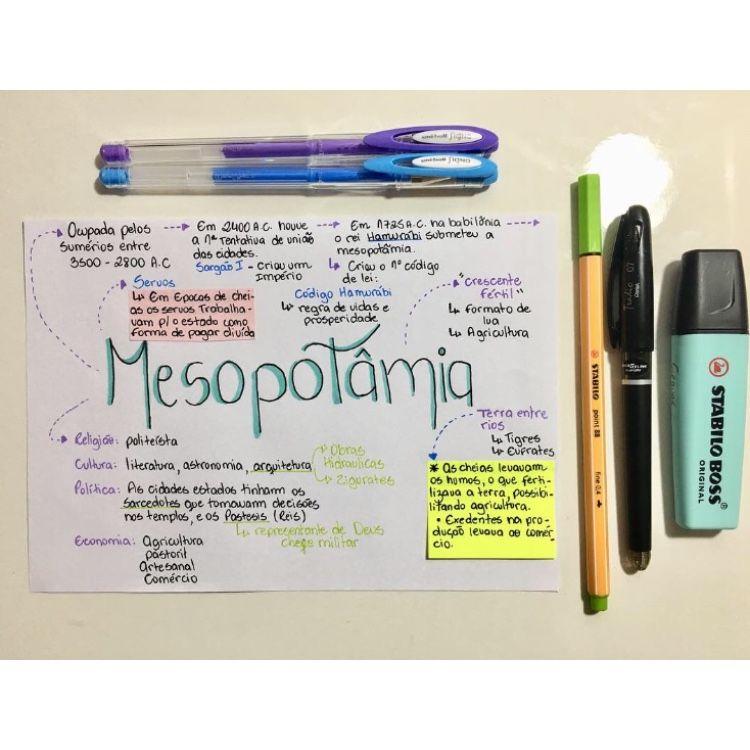Mapa Mental De Historia Geral Mesopotamia Resumos De Historia Pre Historia Resumo Como Organizar Os Estudos