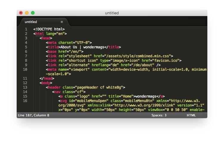 A Designer's Sublime Text Setup Texts, Design, Shortcut icon