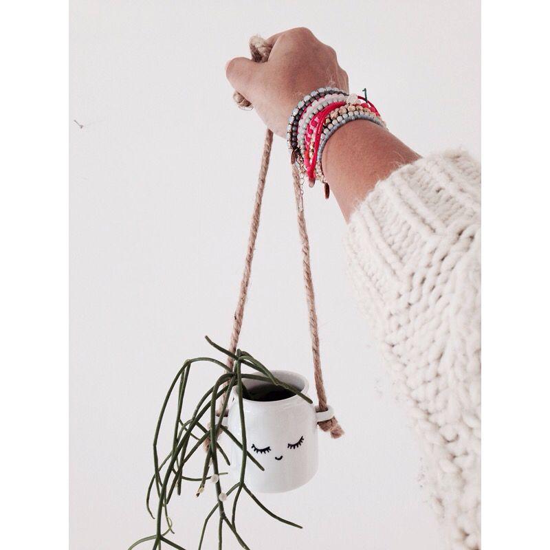 cute mini hanging planter from berylune ... :)