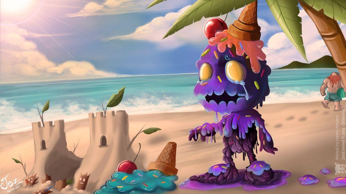 Melted Ice Cream Amumu - League of Legends