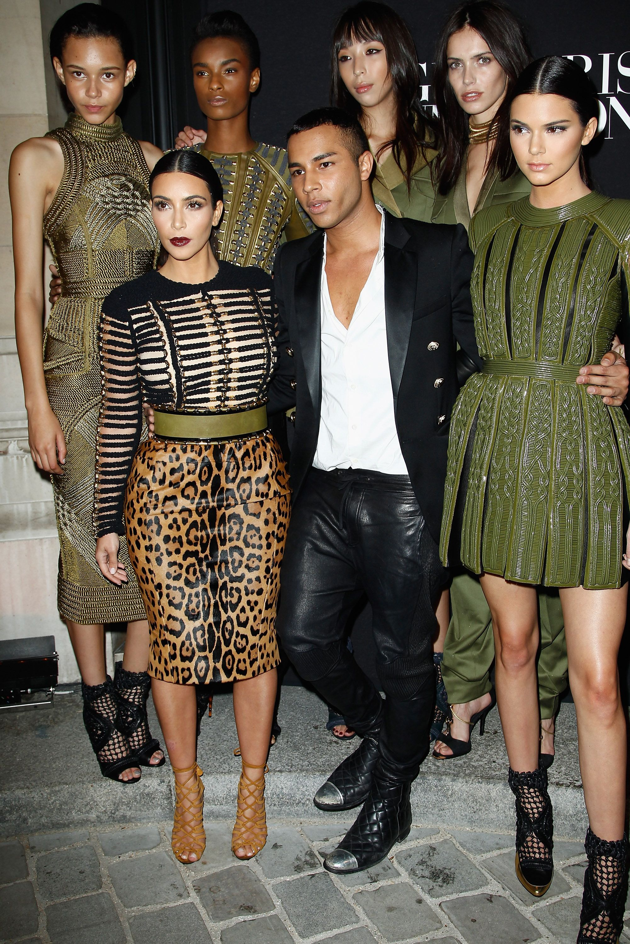 While we #STAYHOME, we invite you to relive the best moments from the #BALMAIN archives with Creative Director, #OlivierRousteing on our #YouTube channel, starting with the #BALMAINFW14 collection.   This collection symbolized the birth of the #BALMAINARMY on and off the runway with #KimKardashian, #KendallJenner, #Issalish, #BinxWalton, #KaylaScott and #AmandaWellsh at the #VogueParis Foundation Gala in off-the runway looks.  #BALMAINENSEMBLE