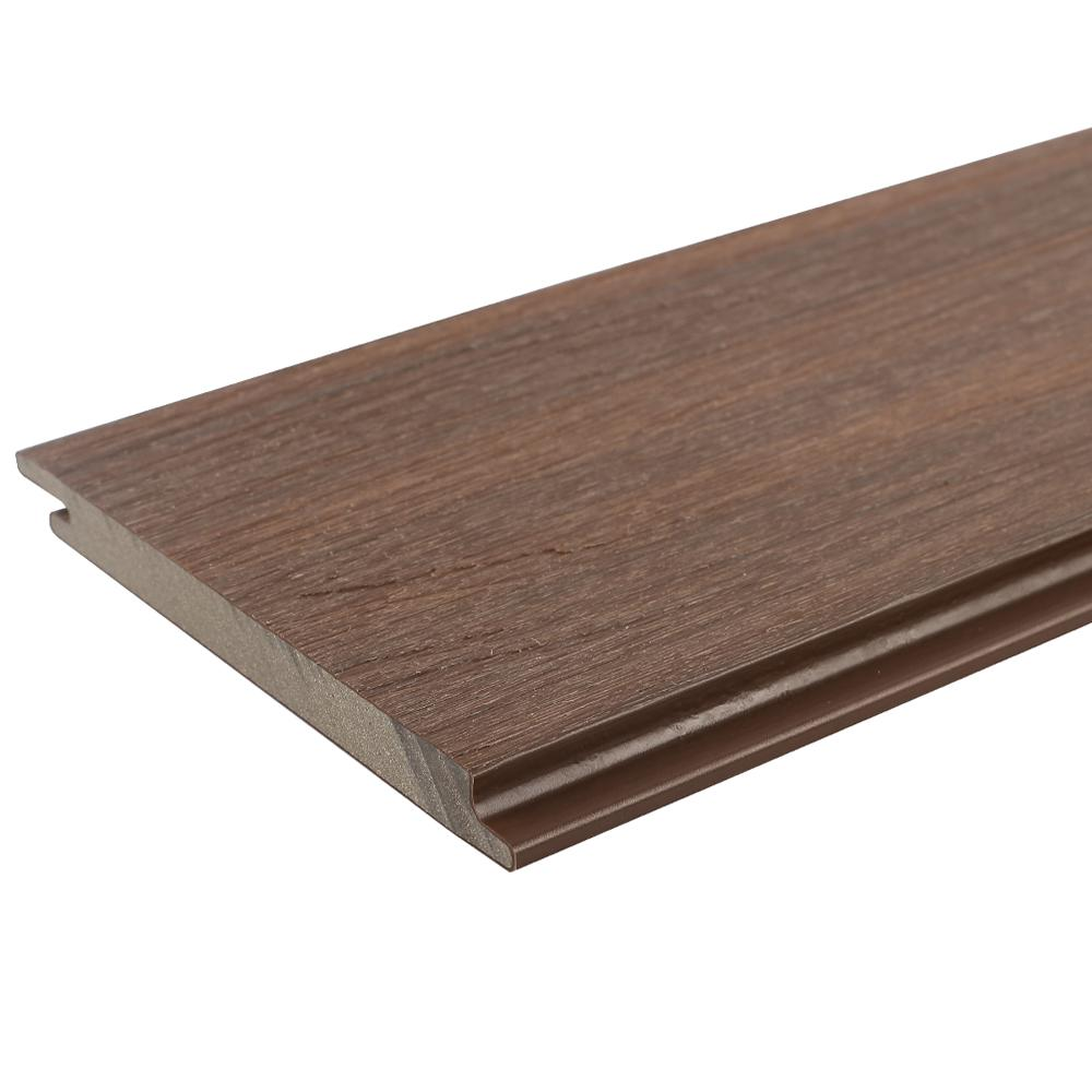 Newtechwood All Weather System 5 5 In X 96 In Composite Siding Board In Brazilian Ipe Brown Tan Products Composite Siding Cement Siding Fiber Cement Siding