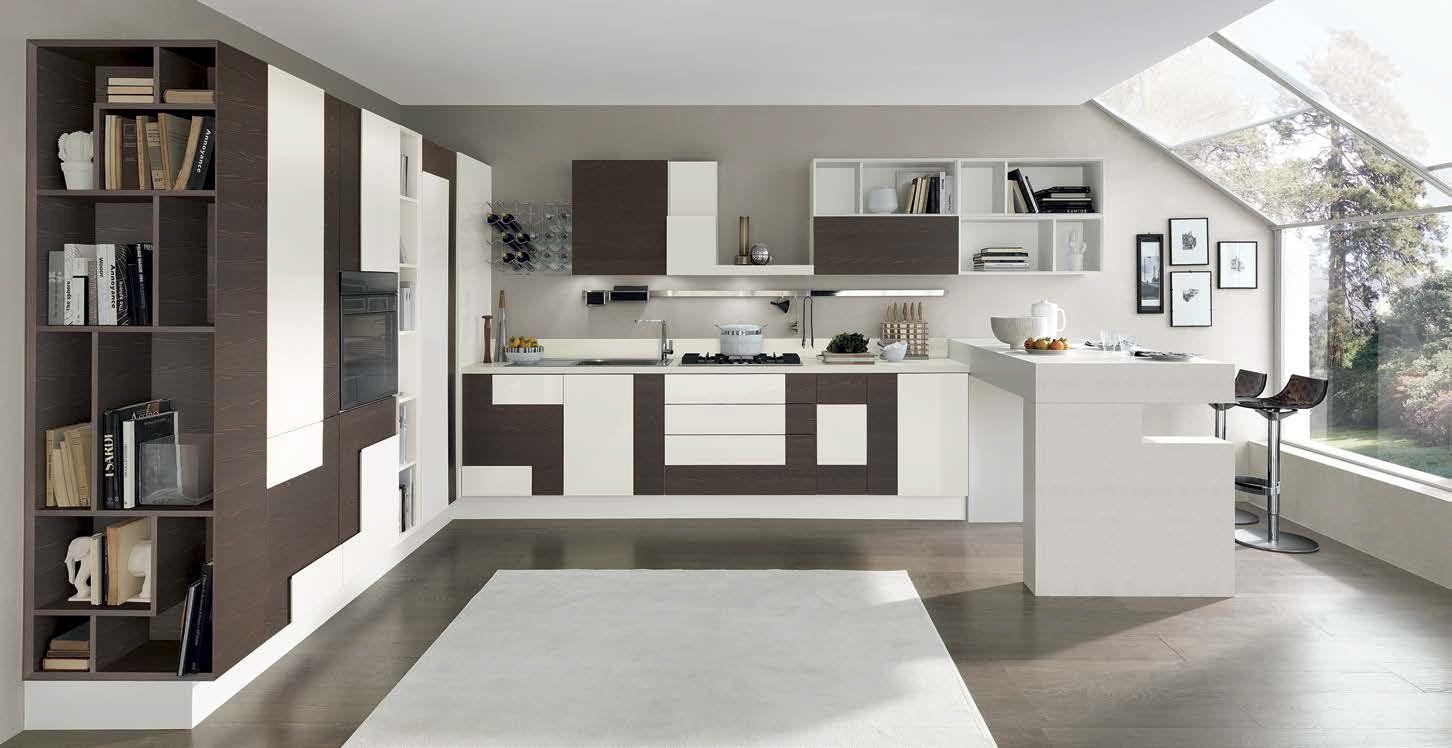 Cucine su misura di qualità targate LUBE Cucine moderne