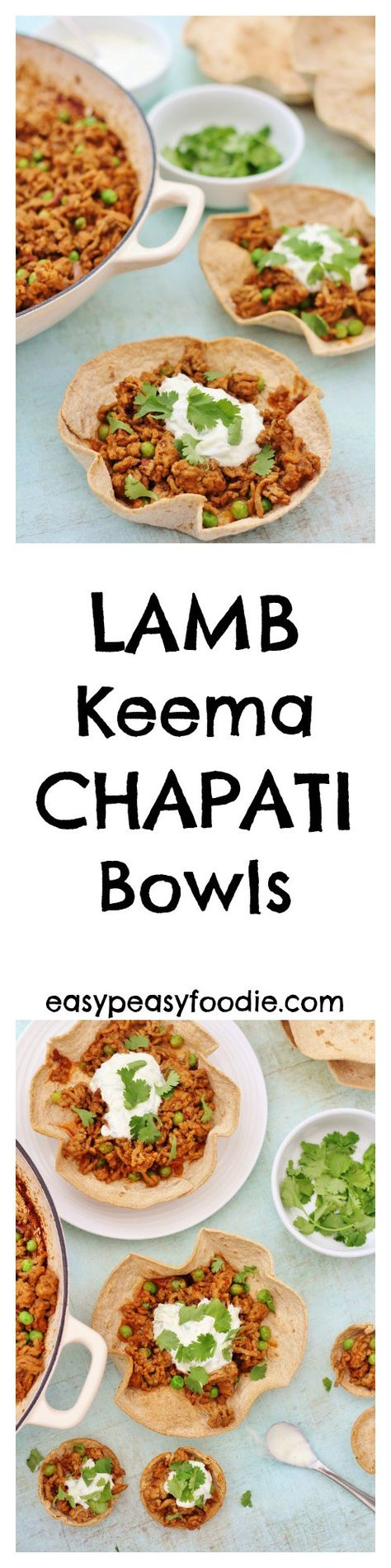 Dinner Party Nibbles Ideas Part - 29: Lamb Keema Chapati Bowls. Perfect For Party Nibbles, A Dinner ...