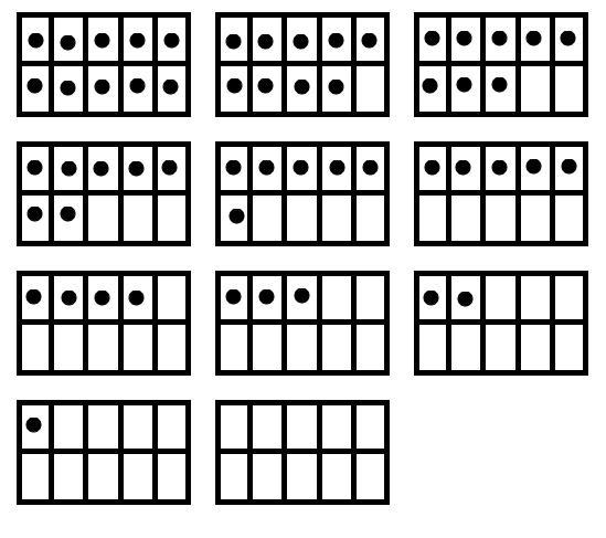 Ten Frame  Google Search  Math K    Ten Frames