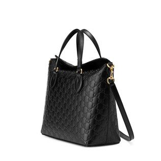 4a76d46c4 Gucci Signature leather top handle bag | Accessorize | Bags, Womens ...