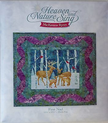 McKenna Ryan~Heaven & Nature Sing~Block 5 -First NoelPattern