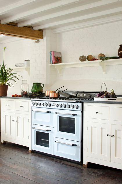 Cuisine En Couleur Inspiration Shopping Déco Cuisinière Brin - Cuisiniere pour idees de deco de cuisine