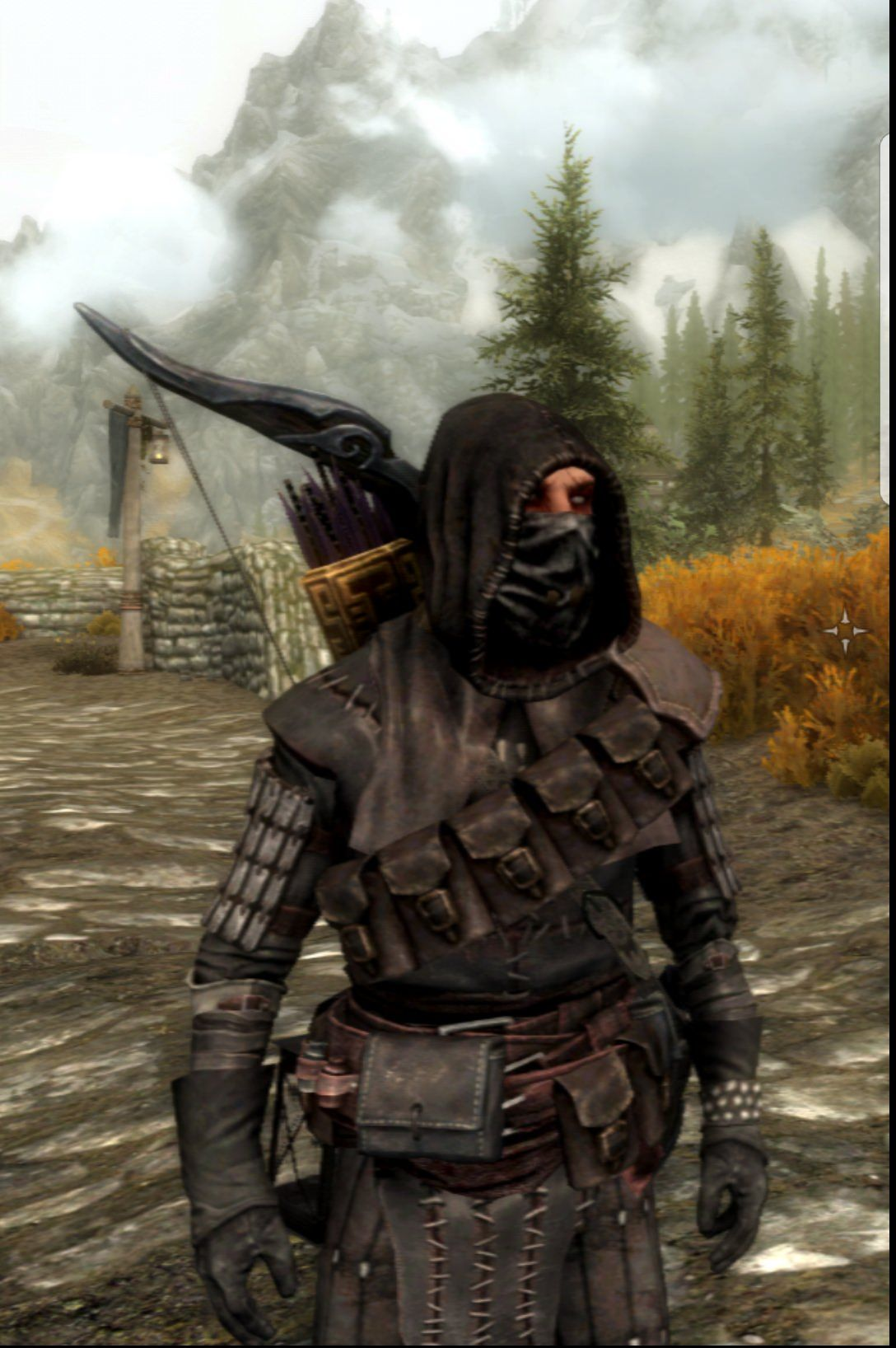 My Thief Archer Looking Pretty Fresh Bandolier Facemasks And