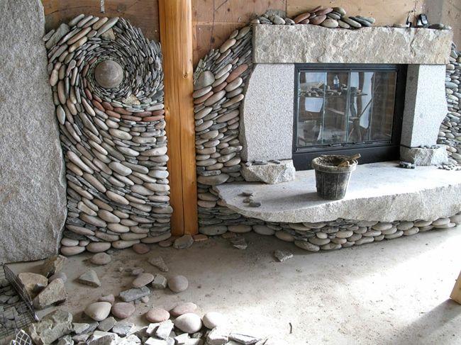 kamin wandgestaltung kunstwerk andreas kunert naomi zettl. Black Bedroom Furniture Sets. Home Design Ideas