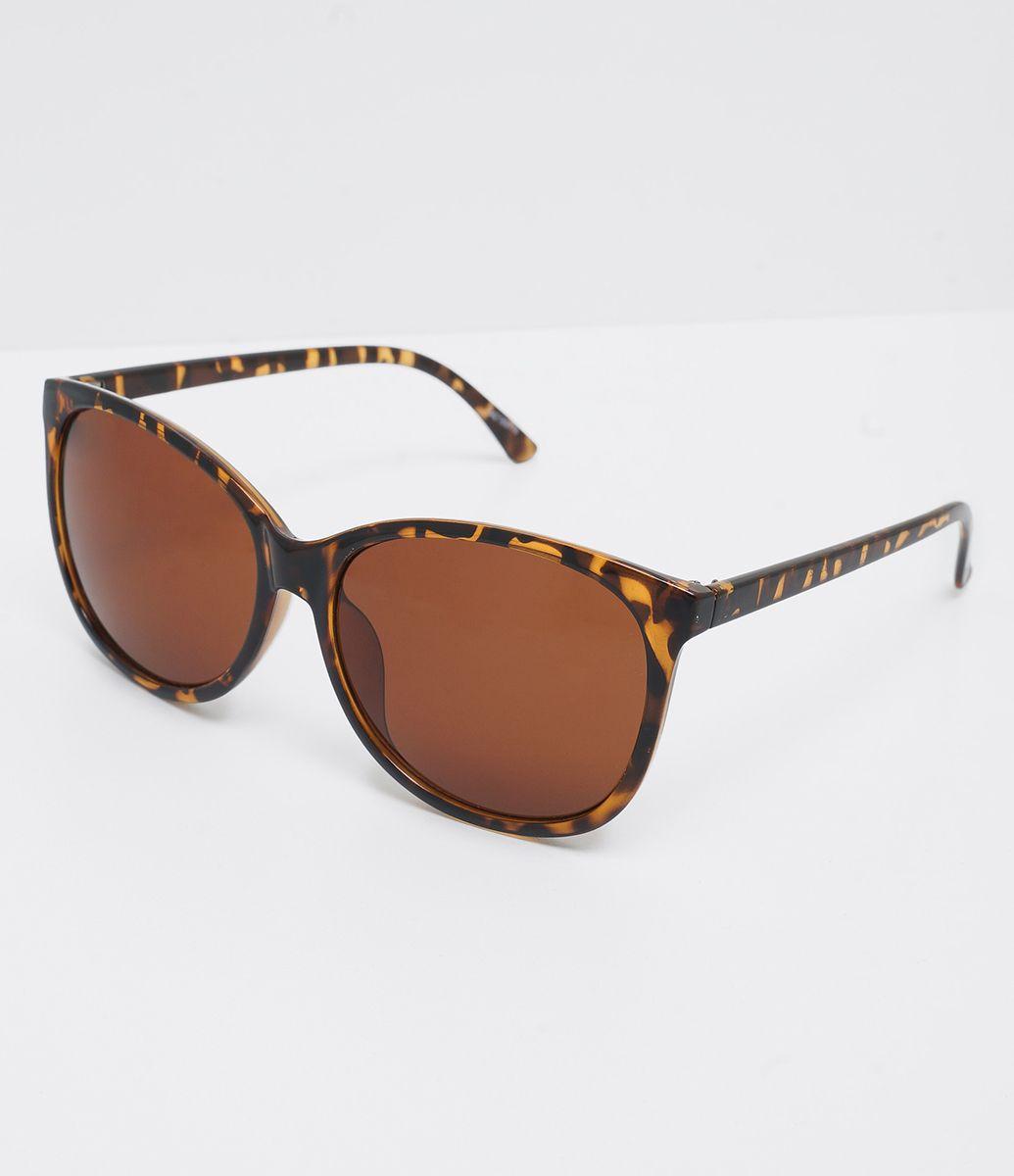 Óculos de sol Modelo redondo Hastes em acetato Lentes degradê Proteção  contra raios UVA   UVB 1a6468f7c6