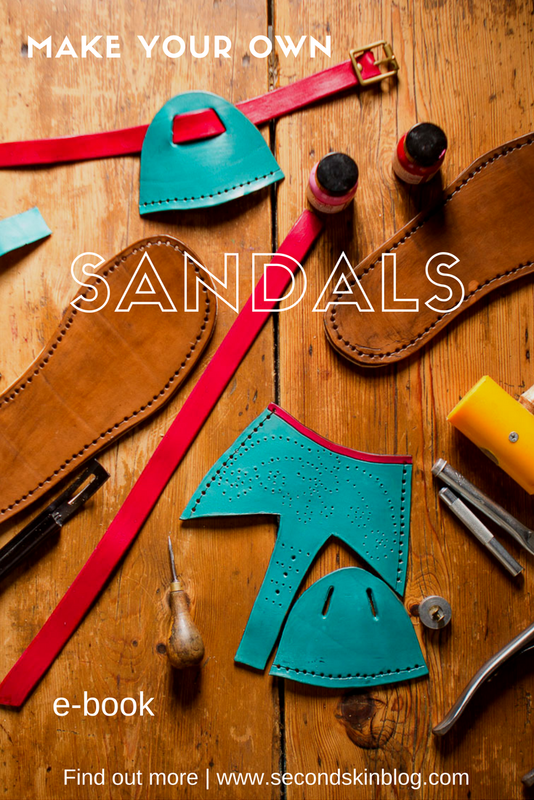 Sandalmaking Make Your Own Sandals Ebook Available Now
