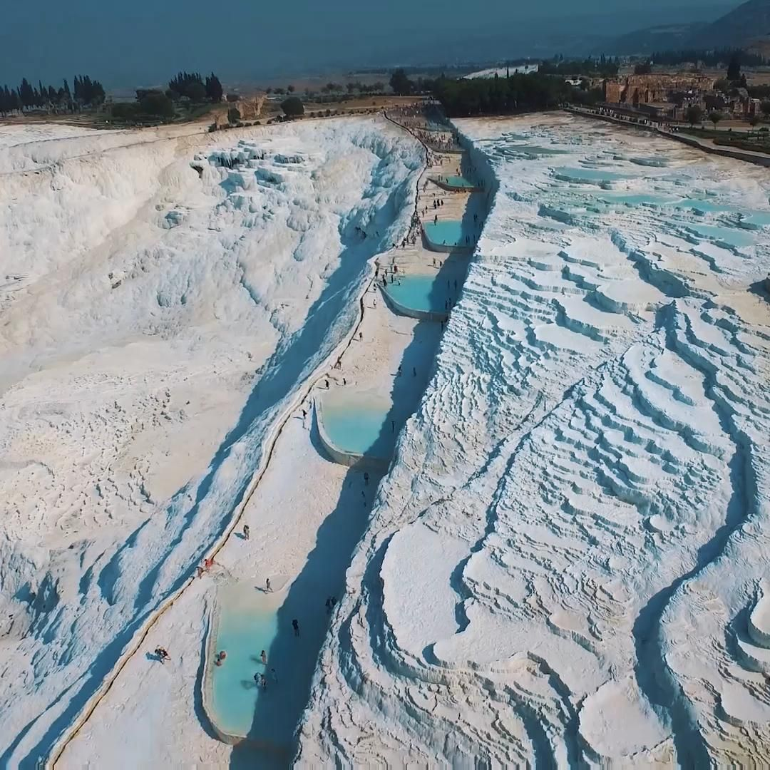 The best tips to visit the thermal pools at Pamukk