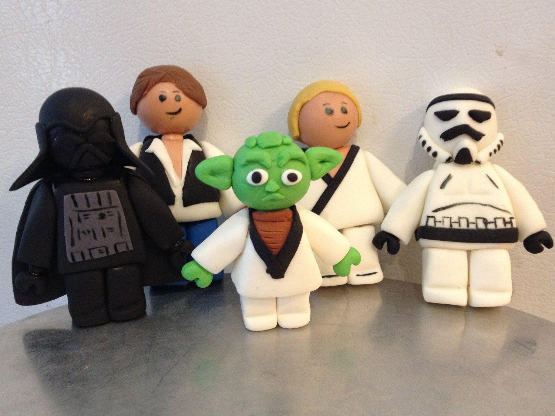 Lego Star Wars cake decor | Star wars cake toppers, Star ...